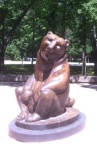 Bears statue at Interlochen